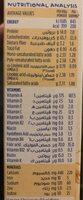 8 cereals - Informations nutritionnelles - fr