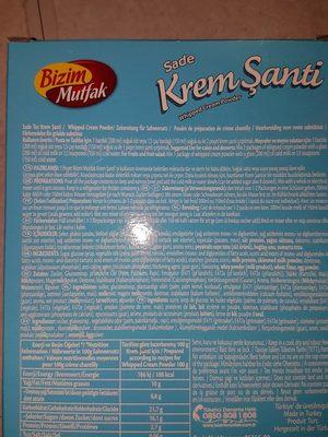 Krem şanti - 2