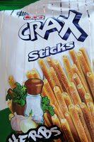 Crax sticks - Продукт - bg