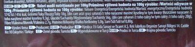 Adicto Go Prăjitură cu cremă de capșuni - Informations nutritionnelles - ro