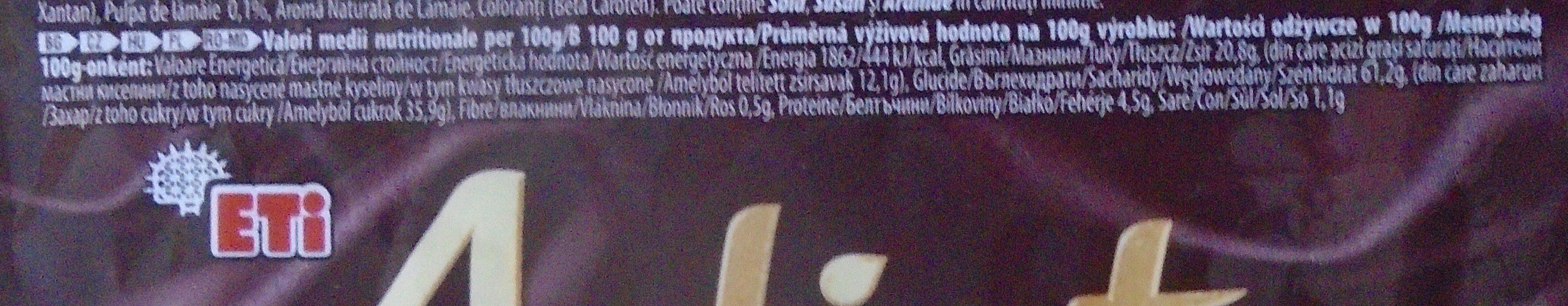 Adicto Go Prăjitură cu cremă de lămâie și glazură - Informations nutritionnelles - ro