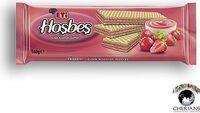 Eti Hosbes Wafer With Strawberry Cream 142G - Produit - fr