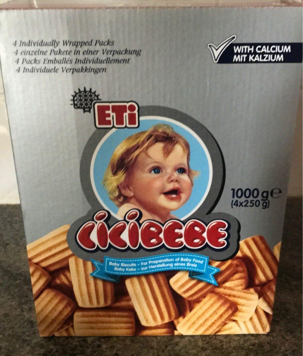 Eti Cici Bebe / Baby Cookies - 1 KG / 4 Pack - Product - fr