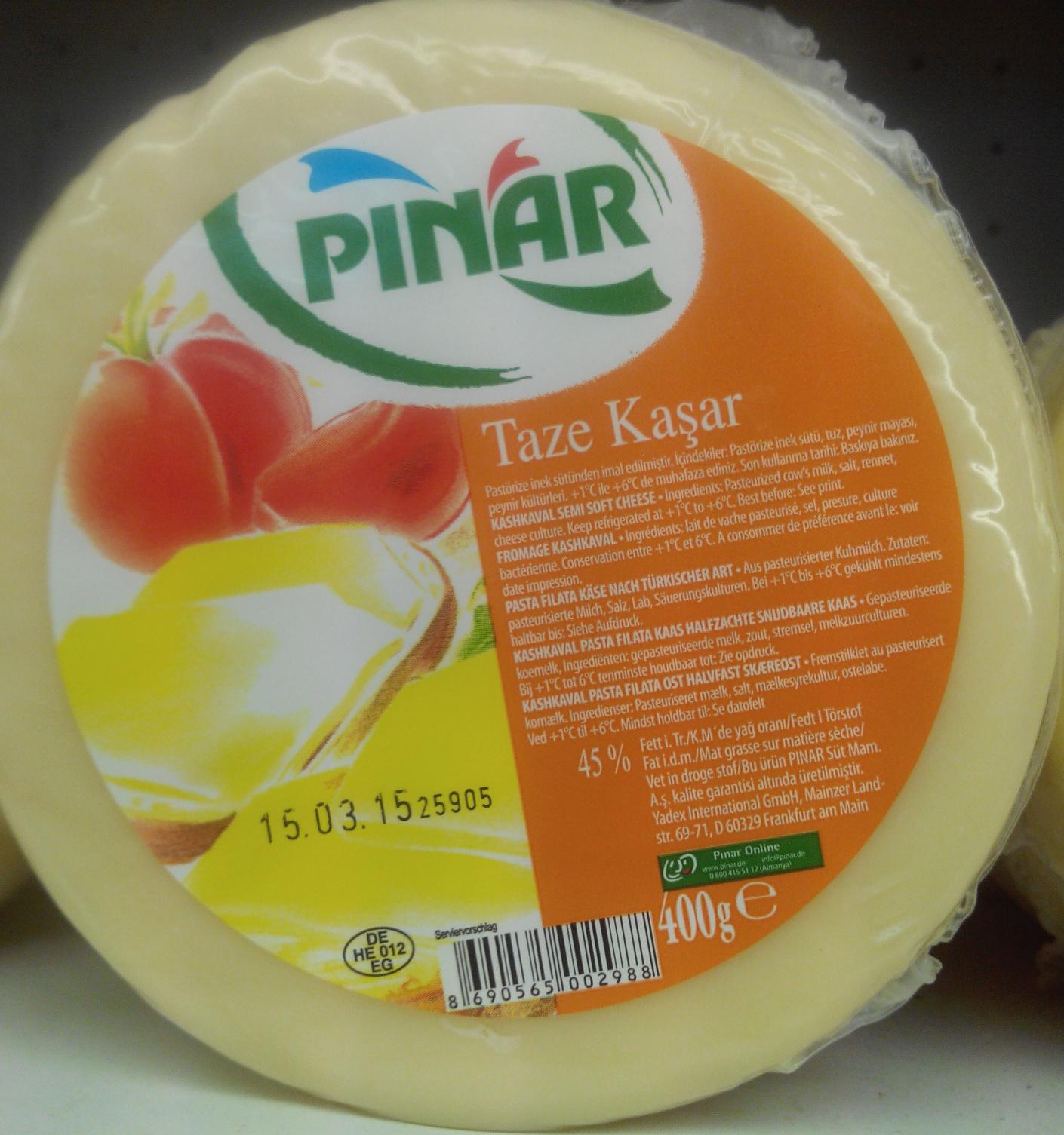 Taze Kaşar - Ürün