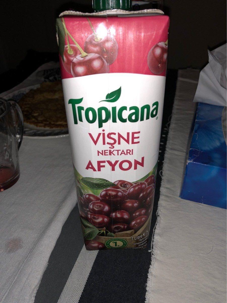 Visne Nektari Afyon (cerise) Tropicana - Produkt - fr