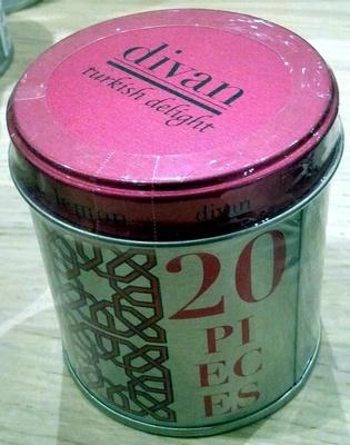 Turkish Delight - 20 pieces - Product - en