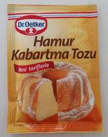 Hamur Kabartma Tozu - Ürün - tr
