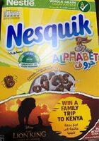Nesquik alphabet - نتاج - fr