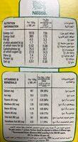 Nesquik alphabet - حقائق غذائية - fr