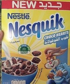 Nesquik® Choco coeurs - Product