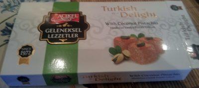Turkish Delight with Coconut Pistachio - Produit - en