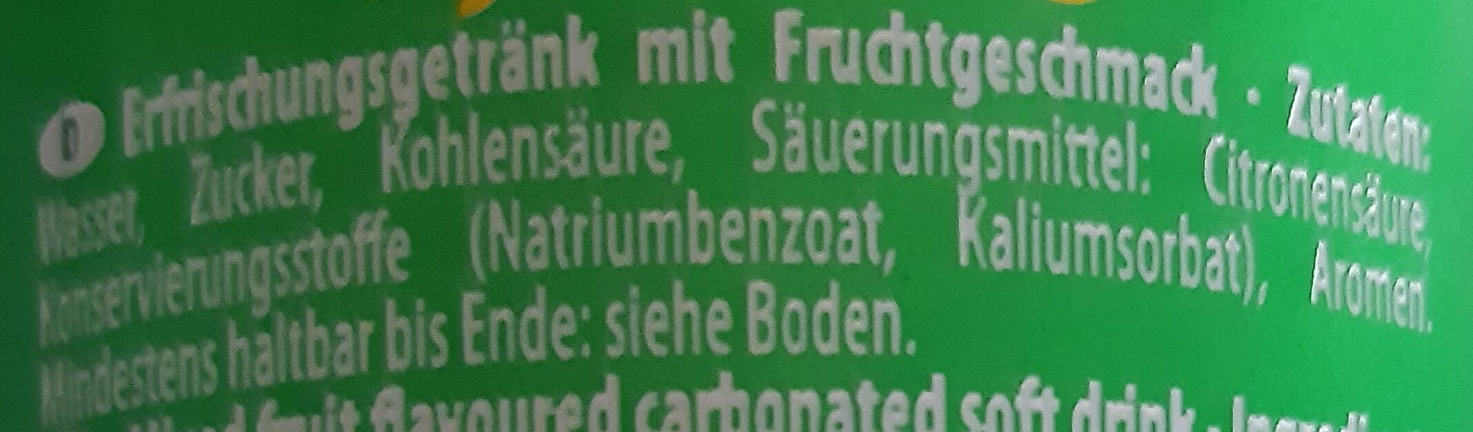 Uludag Gazoz - Ingredienti - de