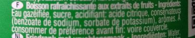 Gazoz - Ingredients