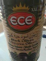 Ece Schwarze Oliven - Product - fr