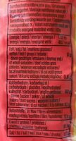Kichererbsen - Informations nutritionnelles - de