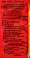 Popcorn Mais - Informations nutritionnelles
