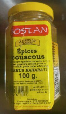 """Épices Couscous """"Kuskus Bharati"""" - Product - fr"""
