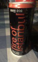 Fire Of Istanbul Energy Drink - Produit