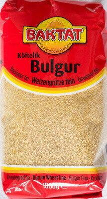 Köftelik Bulgur - Produkt - de