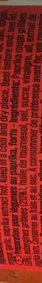Baktat Ajvar Paprika gemüsezubereitung - Ingredients