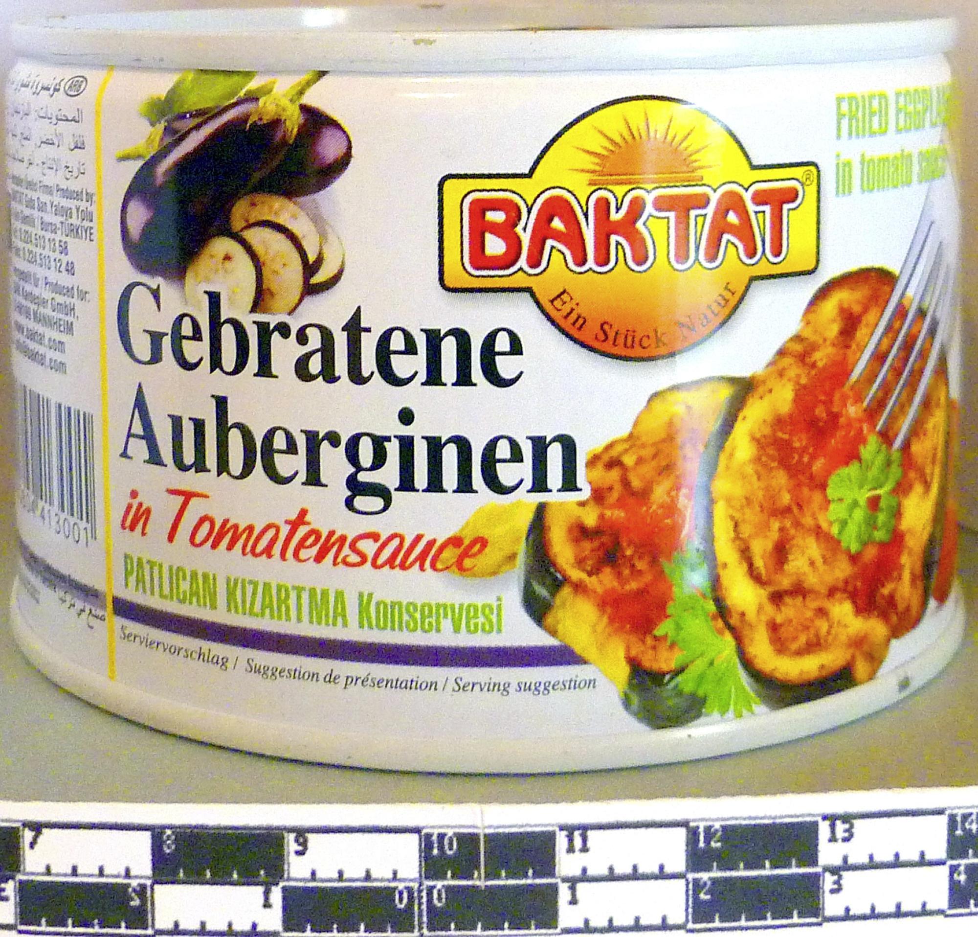 Aubergines grillées à la sauce tomate - Product - fr