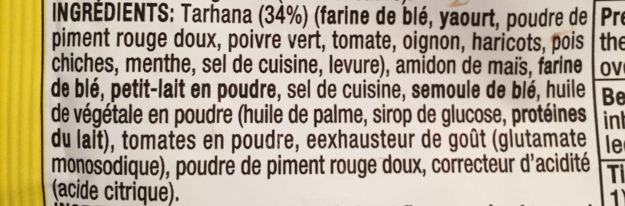 Basak Tarhana Soup - Ingrediënten - fr