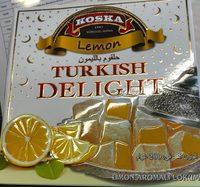 Lemon Turkish Delight - Loukoums - Product