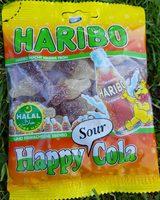 Haribo Halal Happy Cola Sour 100G - Product - fr