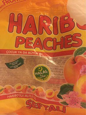 Haribo Halal Peaches - Produit