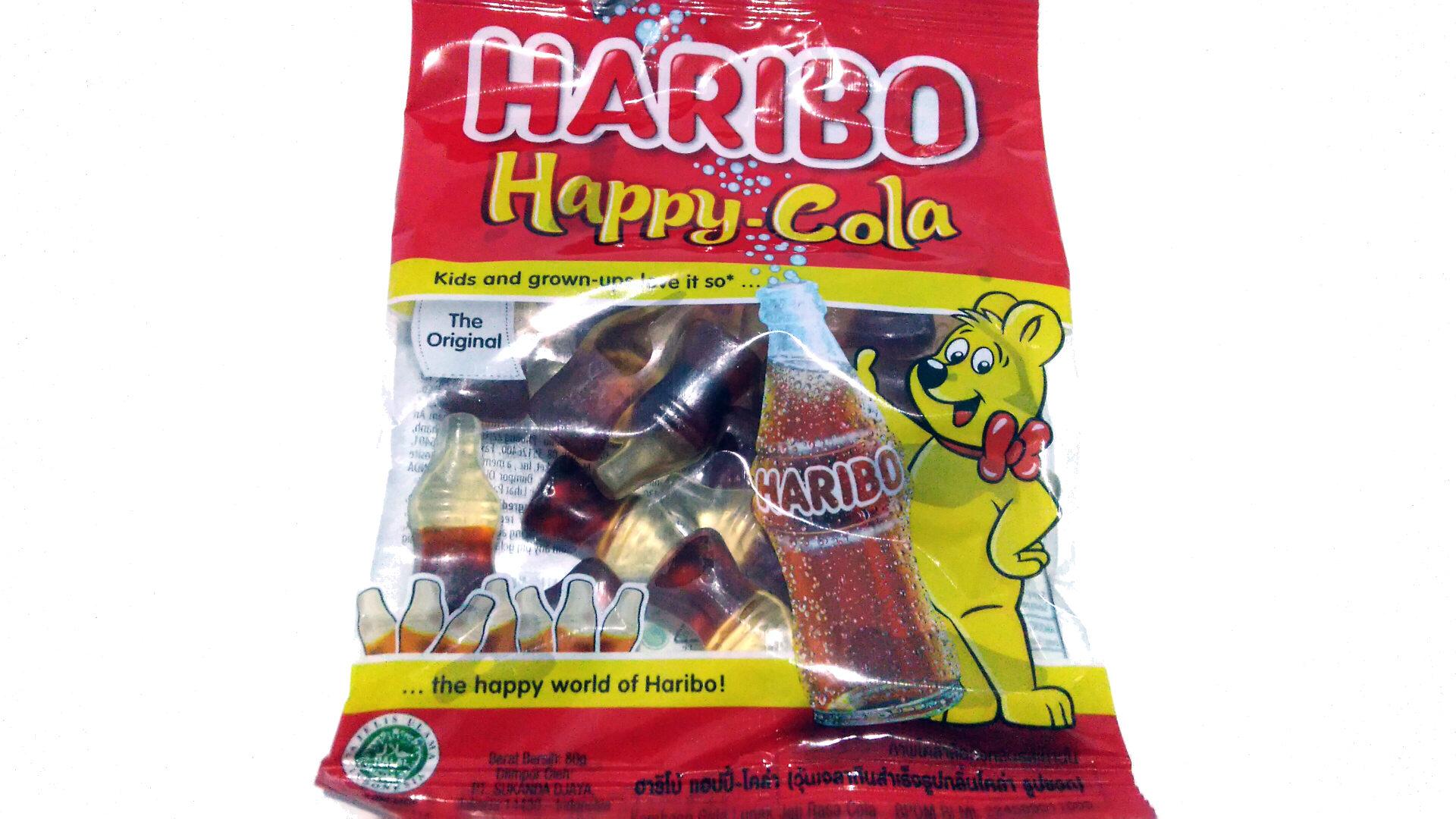 Haribo happy cola - Produk - id