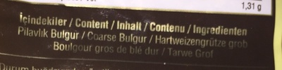 Bulgur - Inhaltsstoffe