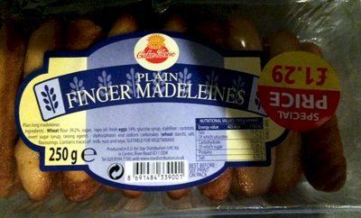 plain finger madeleines - Product - en