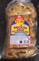 10 Brioche Rolls with Chocolate Chips - Product - en