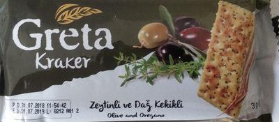 Crackers olive et thym - Ürün - tr