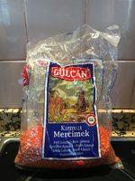 orange lentils - Producto