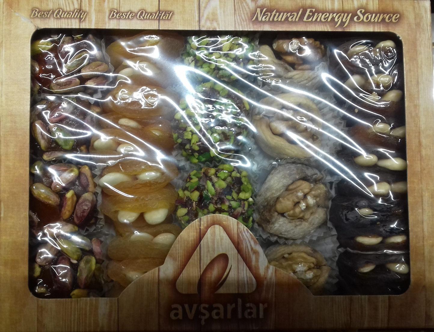 Especialidades en frutas secas - Producte