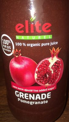 Elite Naturel Jus De Grenade Bio - Produit - fr