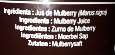 Mulberry - Ingrédients - fr