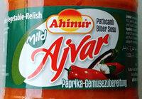 Ajvar mild - Paprika-Gemüsezubereitung - Product - de