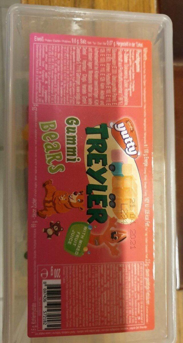 Treyler gummi bears - Product - fr