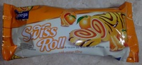 Swiss Roll with orange filling - Product - ro