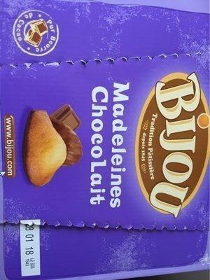 Madeleines chocolait - Produit - fr