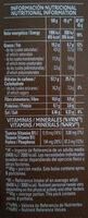 Cruesli Chocolate - Informació nutricional - en