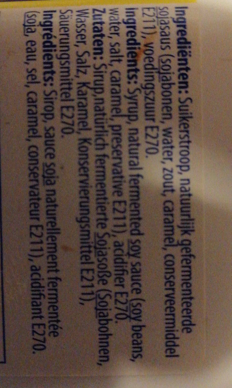 Ketjap Medja No. 1 - Ingredients - nl