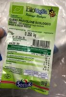 Queso provolone ecologico - Producto