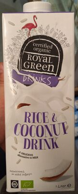 Royal Green Rice and C. nut Drink - Product - fr