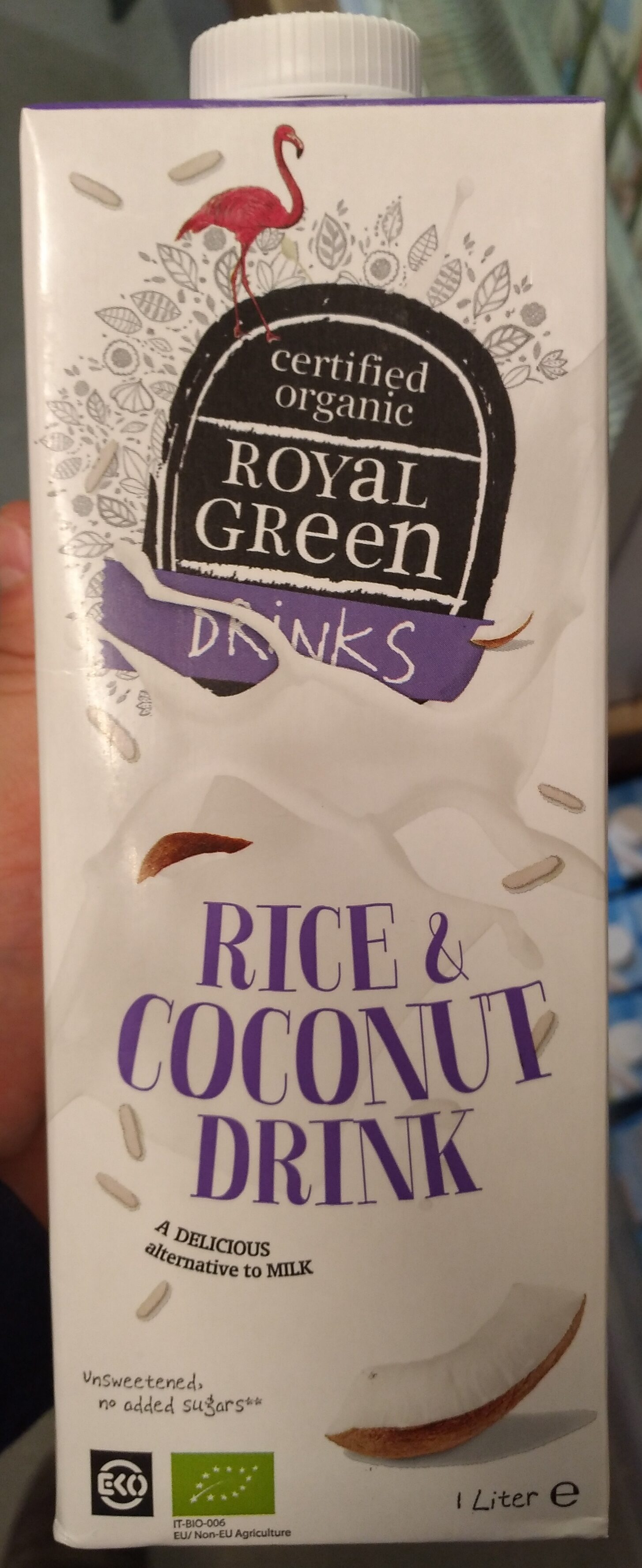 Royal Green Rice and C. nut Drink - Product