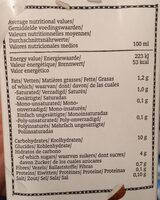 Royal Green Rice and C. nut Drink - Voedingswaarden