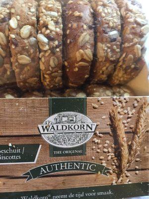 Mini biscottes Waldkorn - Produit - fr