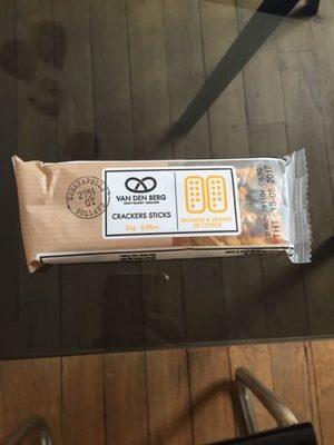 Crackers Stick - Fromage Et Graines De Courge - Produit - fr